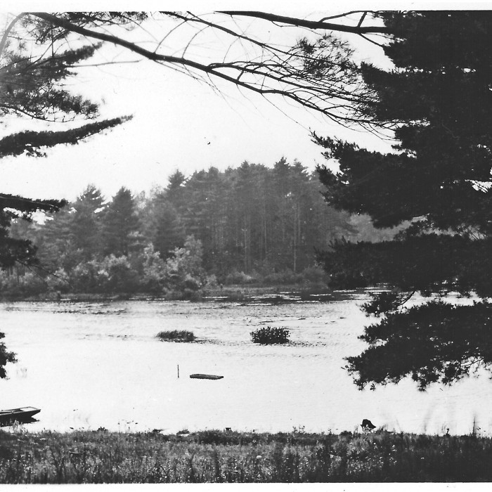 Towne Pond in 1927, after the dam was installed?