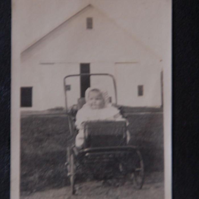 Hiram Towne's niece, Rebecca Parkhurst, 1912