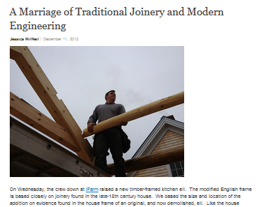 A Marriage of Traditional Joinery and Modern Engineering