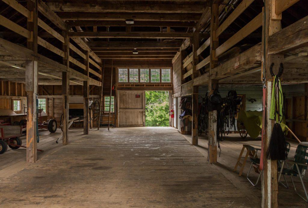 Historic Timber Framing At Ifarm Ifarm Llc