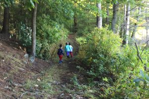 Hiking Preschoolers