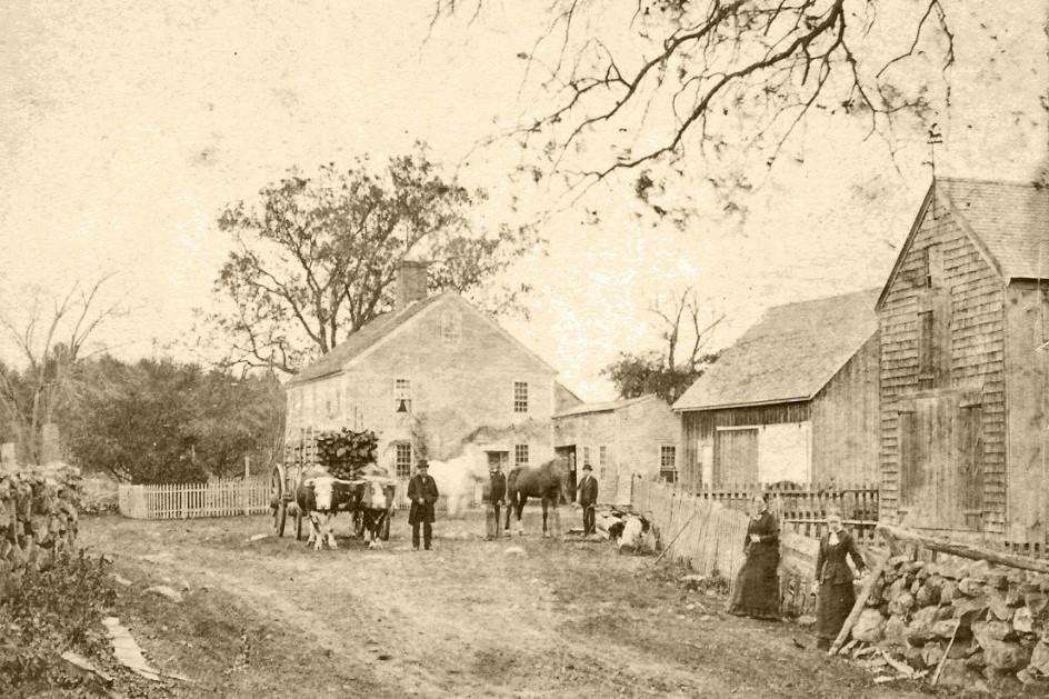 Henry A. Towne farmstead, Boxford, MA, ca. 1859.